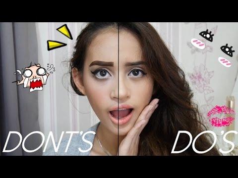 Makeup Do's and Dont's!   Bahasa   Nadya Aqilla