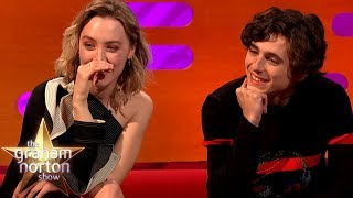 Timothée Chalamet Raps As 'Lil Timmy Tim'! | The Graham Norton Show