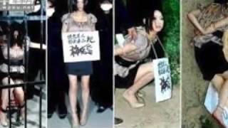 閲覧注意!中国人女性死刑執行前と執行後が生々しい  Chinese woman condemned criminal