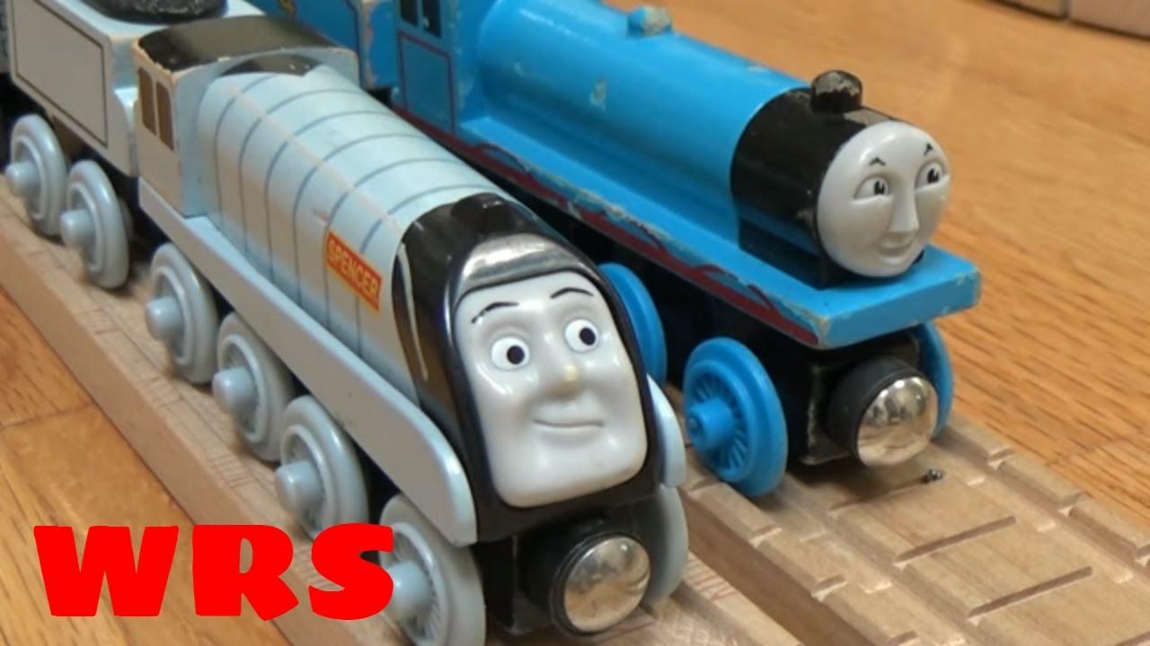 gordon  spencer remake woodenrailwaystudio thomas wooden railway youtube