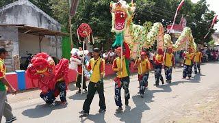 vuclip Pawai Budaya Karnaval Desa - Kadeso Kedungdalem Dringu 2018, Barongsai, Kelabang Songo