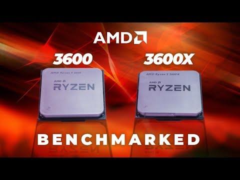 #RIPINTEL? AMD Ryzen 5 3600 & 3600X Gaming Benchmarks
