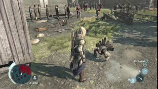 Assassin's Creed III - Connor vs Turkey