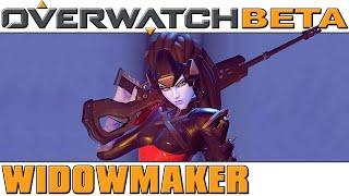Overwatch - BETA - Widowmaker [60 FPS]