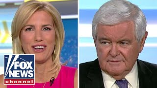 Gingrich on Trump's overseas trip, Russia indictments