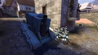 [TF2 Replay] A Life of a Tank (no death)