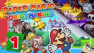 PAPER MARIO: THE ORIGAMI KING 📃 #1: Origami König Olly übernimmt Prinzessin Peachs Schloss!