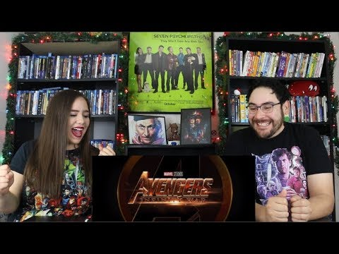 Avengers INFINITY WAR - Official Trailer Reaction / Review