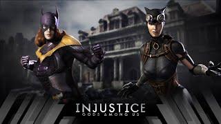 Injustice Gods Among Us - Batgirl Vs Catwoman (Very Hard)