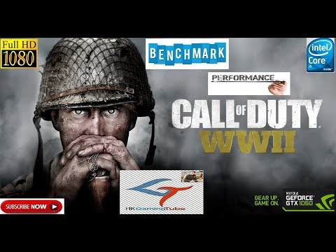 Call of Duty WWII game play ultra setting on 1060 g1 gaming 6gb oc