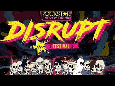 Rockstar Energy 'Disrupt Tour' Reveals Massive Lineup