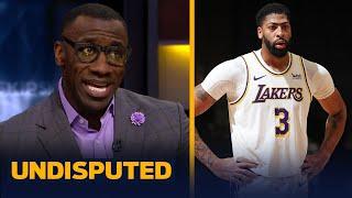 Skip & Shannon on Anthony Davis ruled out 2 weeks w/ calf injury, LeBron MVP run | NBA | UNDISPUTED