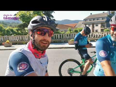 VÍDEO | Dani Rovira, dando pedal por la comarca por una buena causa