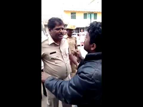 harassment of police in kgf