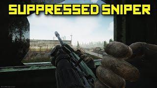 Suppressed Sniper! - Escape From Tarkov
