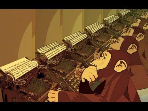 The Infinite Monkey Simulator