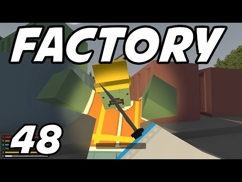 """UNTURNED - E48 """"Tank Factory!"""" (Survival Role-Play on Russia Map)"""