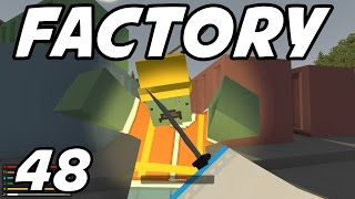 "UNTURNED - E48 ""Tank Factory!"" (Survival Role-Play on Russia Map)"