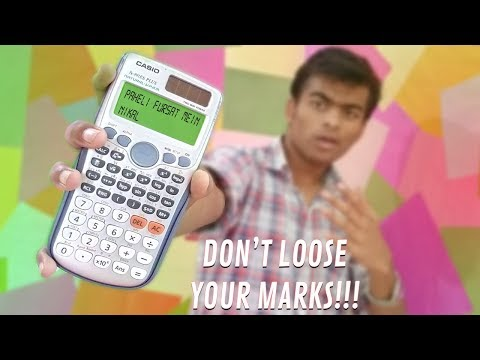 How To Use A Scientific Calculator| For Engineering Students| Casio Fx-991es PLUS| Calci|Matrix