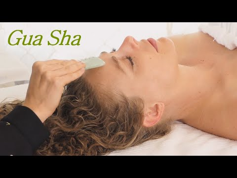 Ultra Relaxing Facial Massage with Gua Sha ♥ Enhance Your Natural Beauty, Skin Care Products & Tips