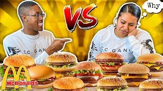 MCDONALDS MUKBANG | WHY DO MEN CHEAT WITH CARMEN AND COREY !!