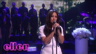 Demi Lovato Tell Me You Love Me Live On