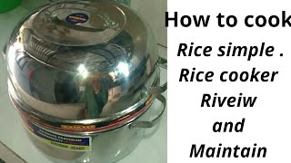 How to cook Thermal Rice cooke…
