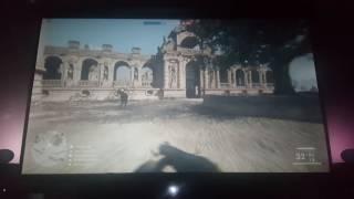 "Battlefield 1 PS4 100"" Optoma GT1080"