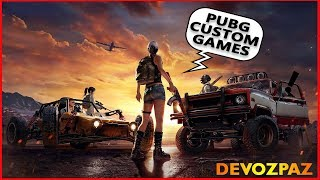 SUNDAY PUBG CUSTOM GAMES WITH SUBS!