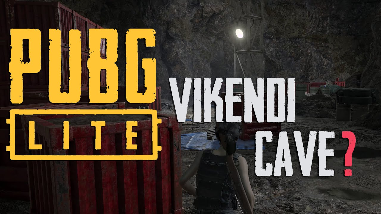Pubg Pc Lite Vikendi Cave Youtube