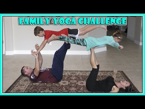 FAMILY YOGA CHALLENGE | BOYS VS. GIRLS | We Are The Davises