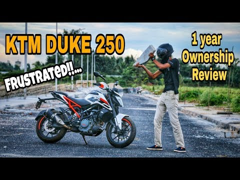 Is it Worth buying KTM Duke 250? |1 year Ownership Review.