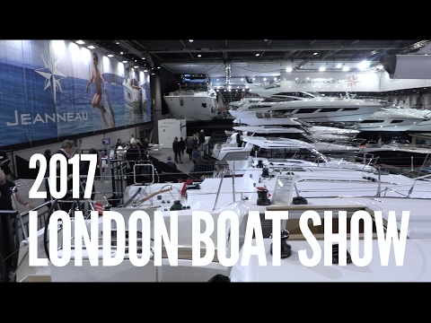 Our Visit to the London Boat Show
