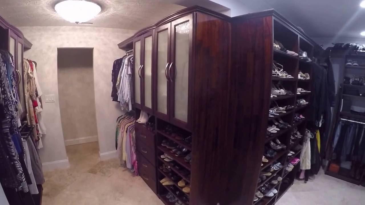 Solid Wood Closets Customeru0027s Installed Closet