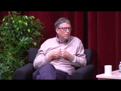 Bill Gates׃ Considering the Future of Higher Education