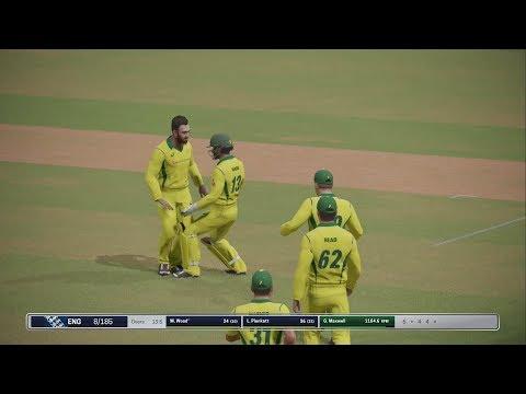 Ashes Cricket 2017 | Australia vs England | AI vs AI | Ps4 Gameplay | 20 Over | 1080p60