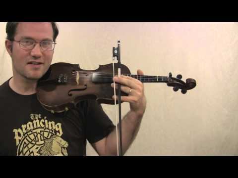 Chording on the fiddle lesson
