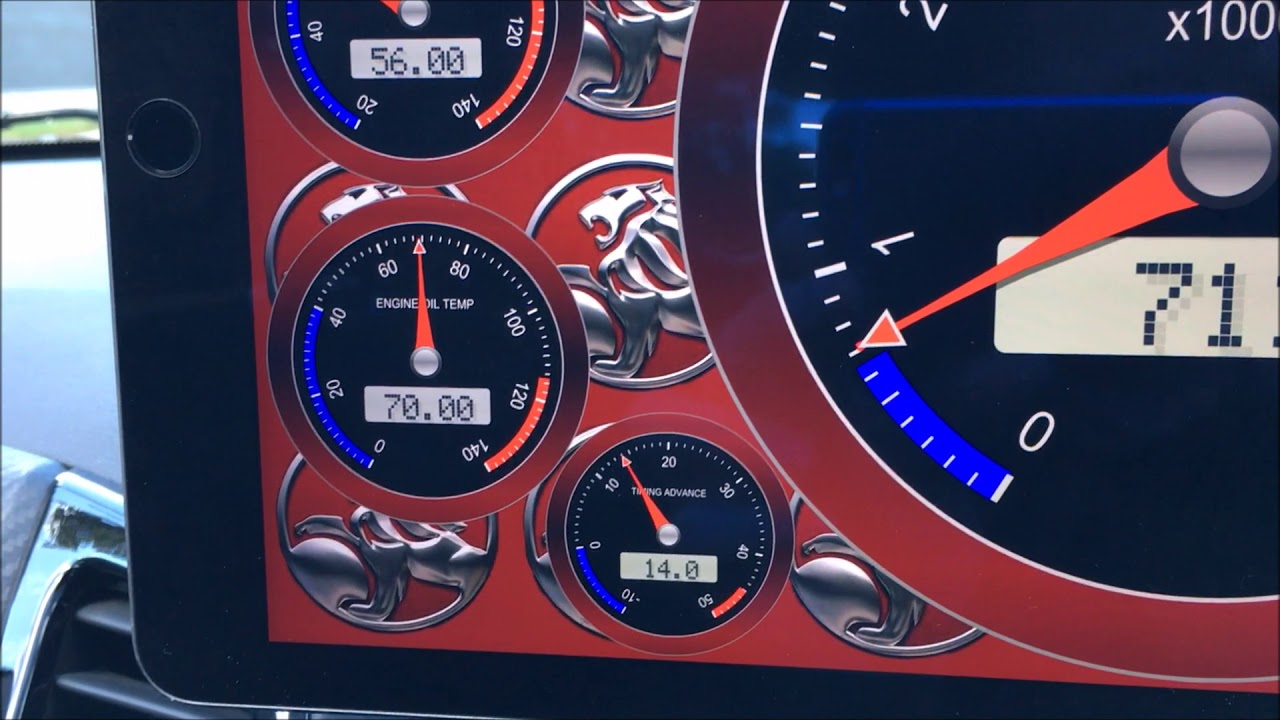 VF Gauge Options - Dash Command App | Just Commodores