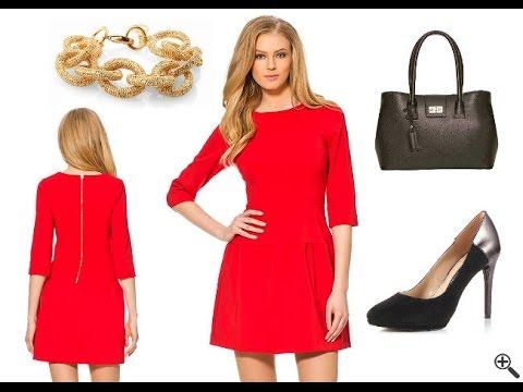 quality design c326a 82ac6 Kurze enge Kleider - Schöne Outfit Ideen in Rot