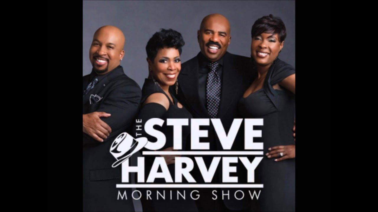 Steve Harvey Morning Show Sister Odell Singing - YouTube