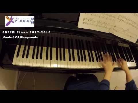 2017-2018 ABRSM Piano Exam Grade 6 - C3 Masquerade by Karen Tanaka
