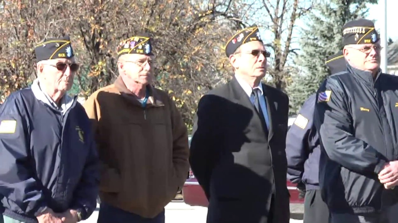 Veterans Day in Rouses Point  11-11-10