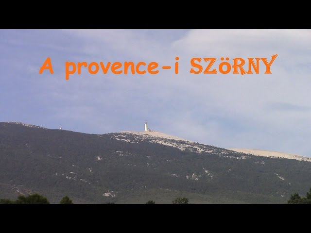 Alpok-túra 2015 - 6. nap - Mont Ventoux