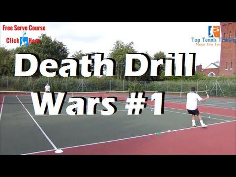 Tennis Drills   Death Drill Wars #1