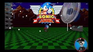 Roblox Sonic Mania