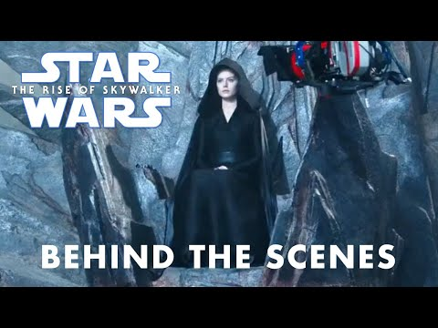 Star Wars The Rise of Skywalker Darth Rey Behind the Scenes