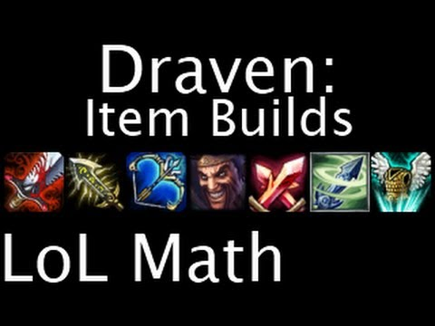 Lol Draven Build Items