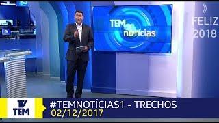 TEM Notícias 1° Edição (Sorocaba e Jundiaí): Trechos (02/12/2017)