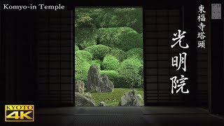 [4K] 光明院・東福寺 京都の庭園 Komyo-in Temple [4K] The Garden of Kyoto Japan thumbnail
