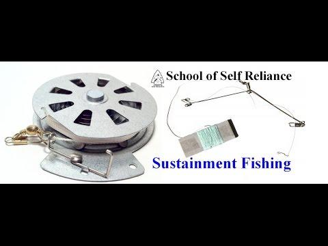 YoYo Fishing Reel & Military Speedhook (Sustainment Gear Series)